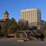 Vedere hotel Moldova dinspre Palatul Culturii